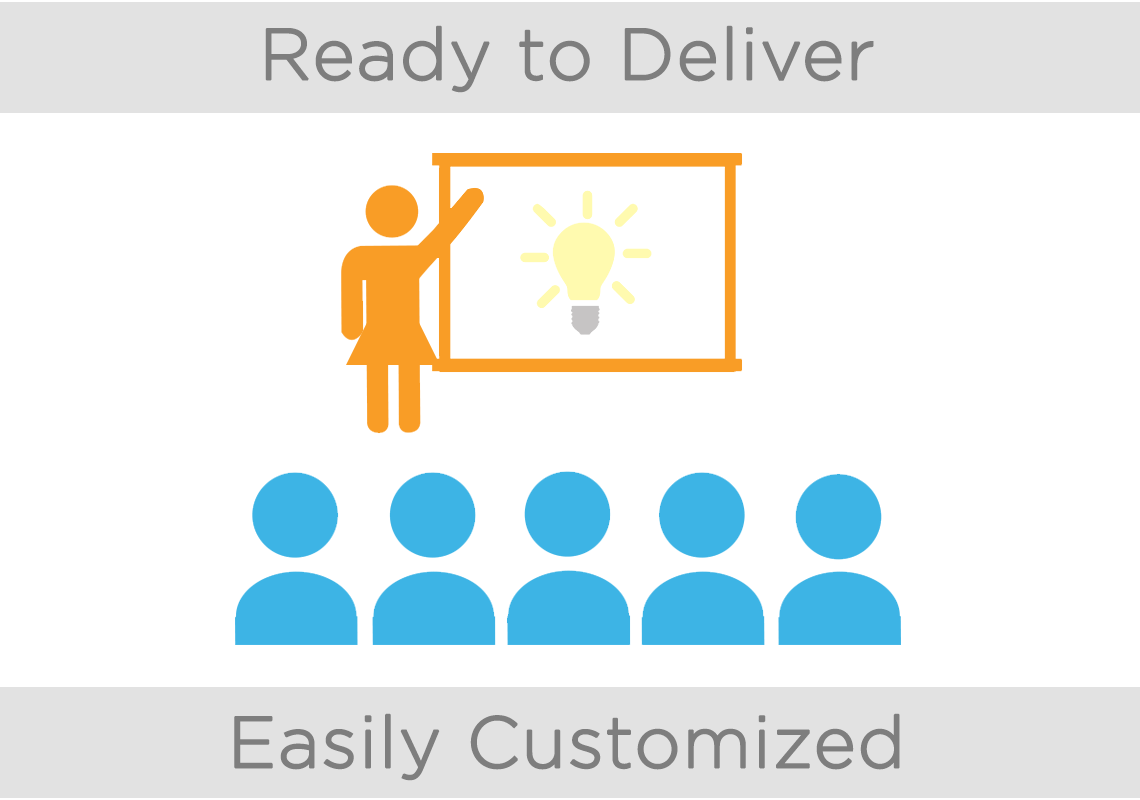 Customize the right training for your business.